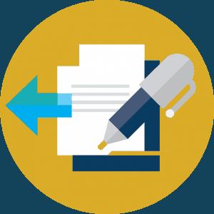 Checklist graphic admissions icon