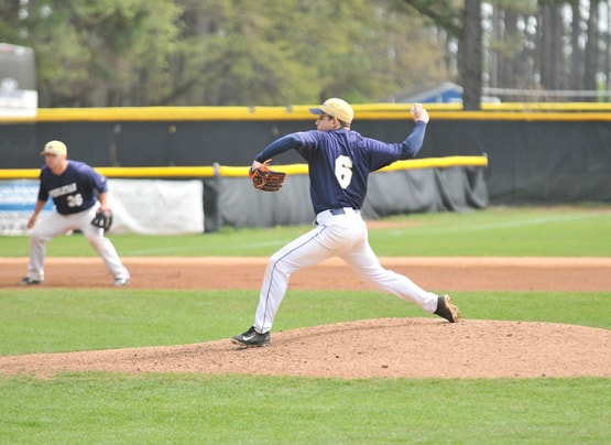 NC Wesleyan baseball pitcher