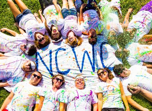 ncwc students color run