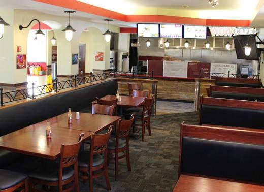 nc Wesleyan WOW Cafe interior