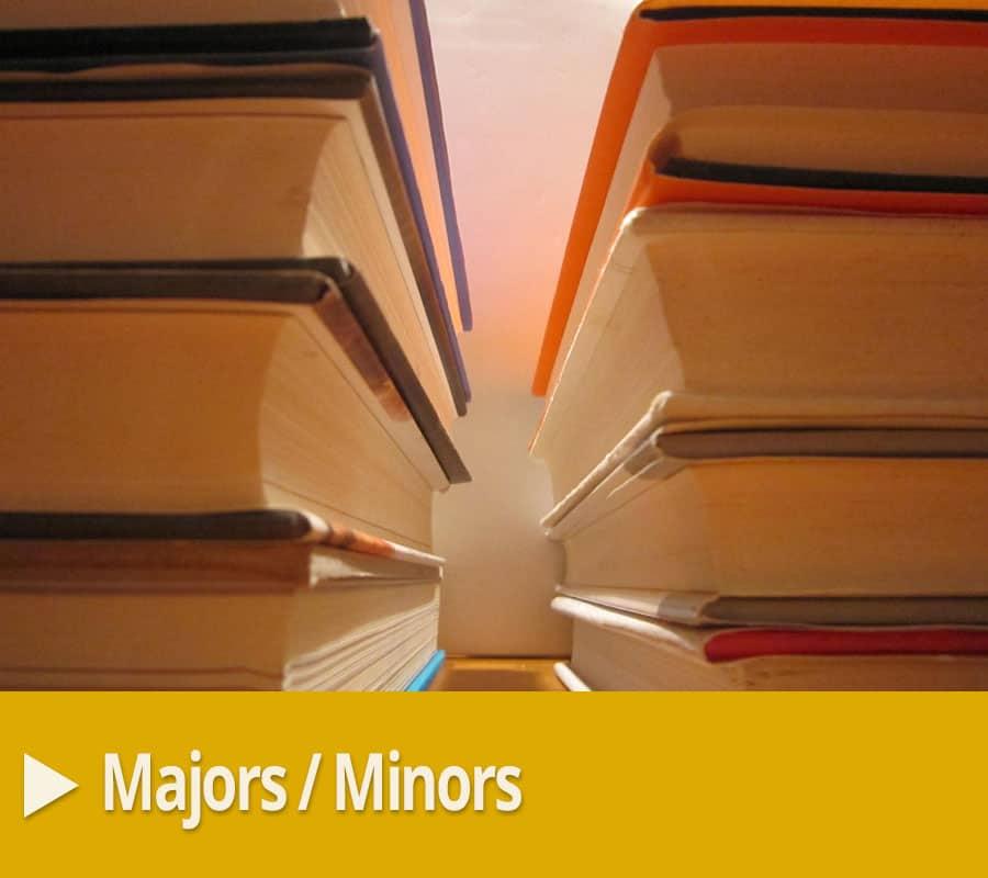 nc Wesleyan major/minors