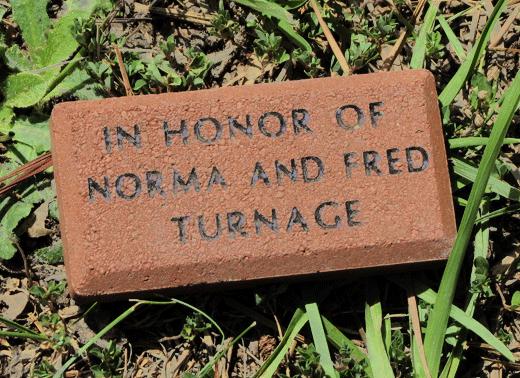 ncwc memorial brick on campus
