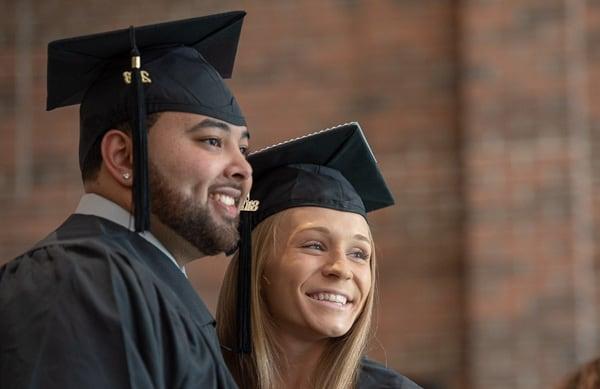 ncwc graduates smiling