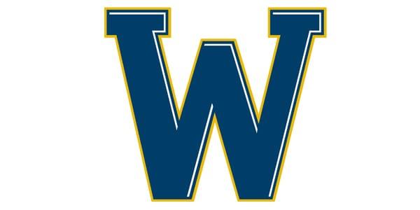 ncw branding W logo blue and gold
