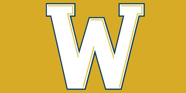 ncw W logo gold outline