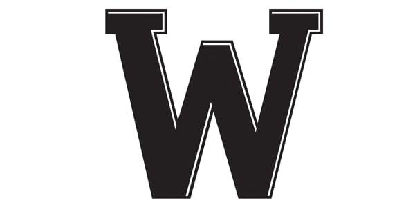 ncw branding W logo black