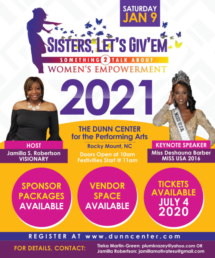 Sisters, Let's Giv'em Something 2 Talk About - Women's Empowerment 2021