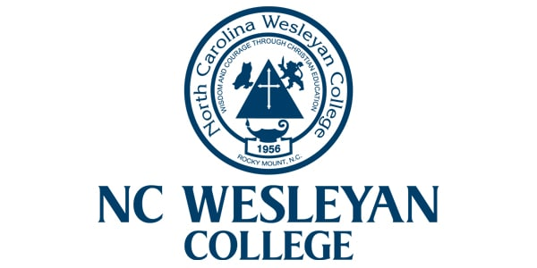 secondary logo with seal for nc wesleyan college