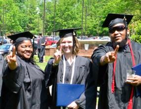 NC Wesleyan adult studies graduates