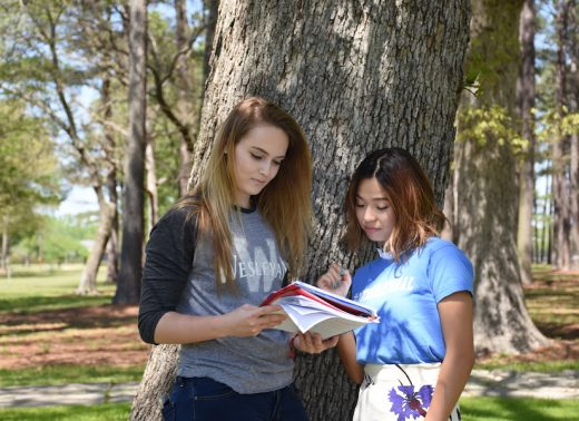 NC Wesleyan students read book