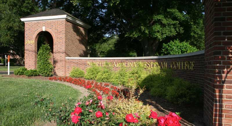 NC Wesleyan front entrance