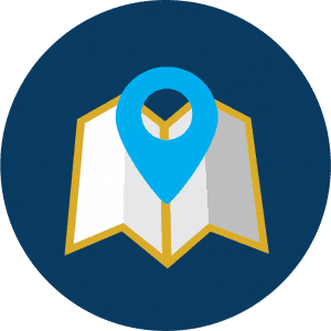 map graphic visit icon
