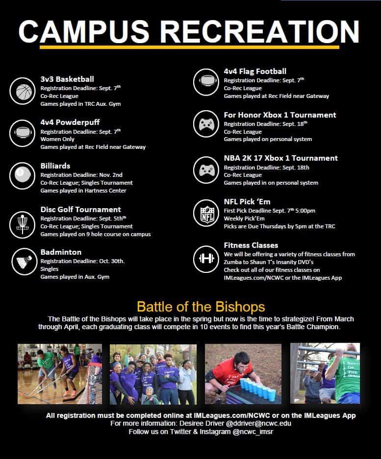 Campus Recreation Flyer