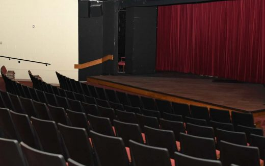 Stage in the Powers Recital Hall