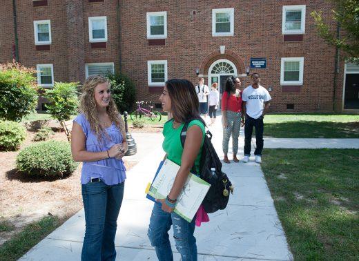 NC Wesleyan students talk