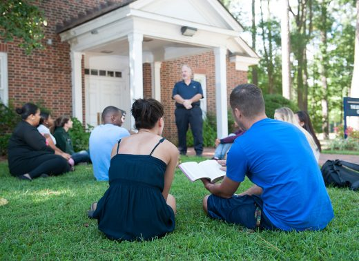NC Wesleyan students read bible