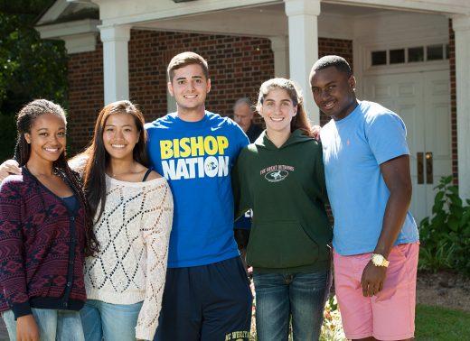 NC Wesleyan students at chapel