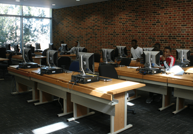 Library Instruction Lab North Carolina Wesleyan College