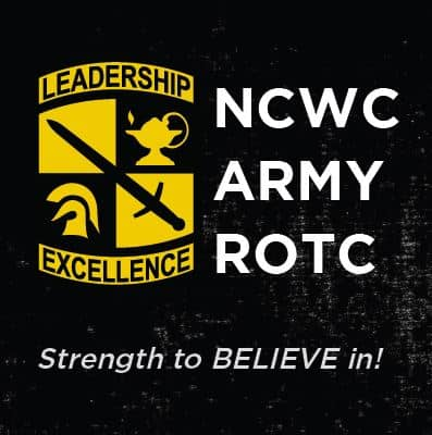 "NCWC Army ROTC ""Strength to Believe in!"" Poster"