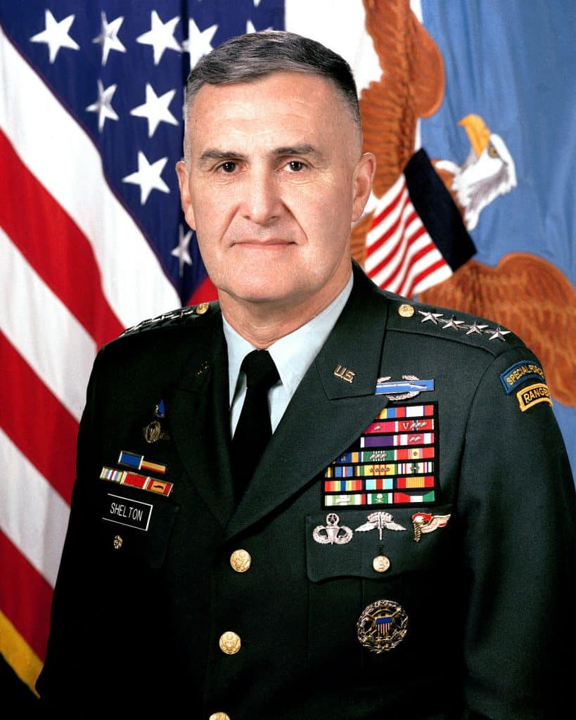 General Henry Hugh Shelton