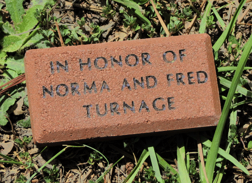 ncwc memorial brick on campus