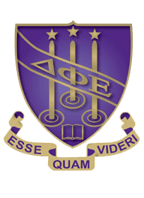 Delta Phi Epsilon Sorority Crest