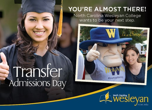 NCWC Transfer Admissions Day