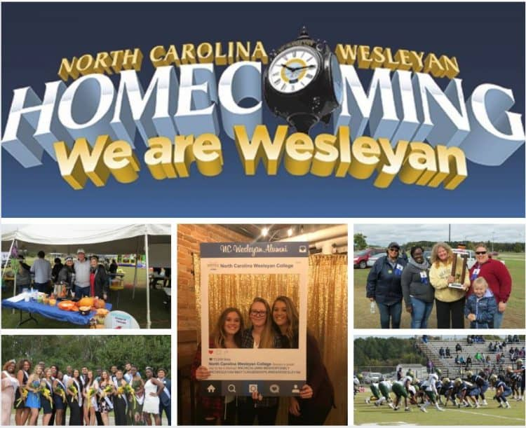 nc Wesleyan homecoming 2018