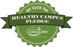 We Took the Healthy Campus Pledge 2020