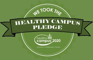 We Took the Healthy Campus Pledge 2020