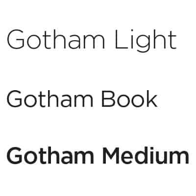 ncw branding Gotham