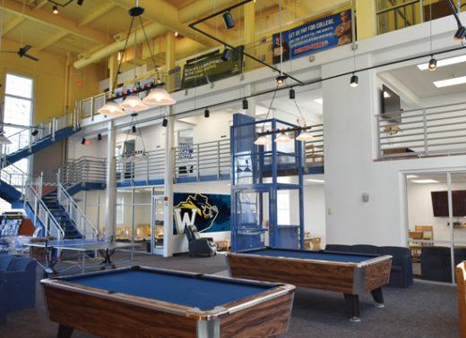 Hartness Center Student Lounge Inside