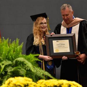 nc Wesleyan Jessica brabble graduation spring 2019