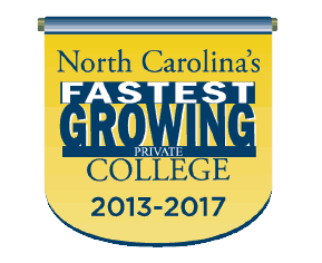 nc fastest growing colleges logo