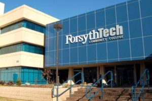 Front view of Forsyth Tech