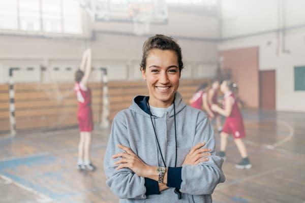 Lady coach