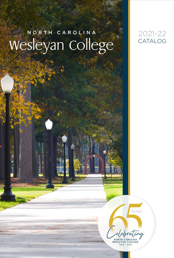 catalog cover for nc wesleyan college