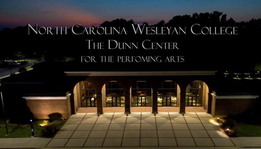 North Carolina Wesleyan College Dunn Center building picture poster